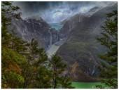 Glaciar colgante Queulat